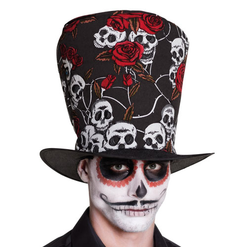 Day Of The Dead El Novio Hat Halloween Fancy Dress Product Gallery Image