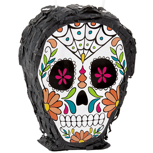 Day Of The Dead Mini Pinata Halloween Decoration 11cm