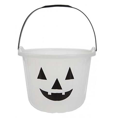 Glow In The Dark Halloween Trick And Treat Jumbo Candy Bucket 17cm Product Gallery Image