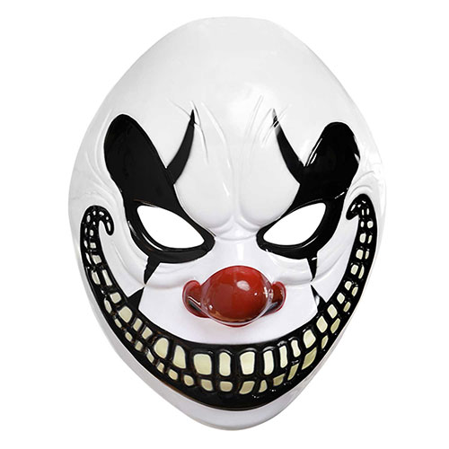 Halloween Adults Circus Freakshow Clown Mask Product Image