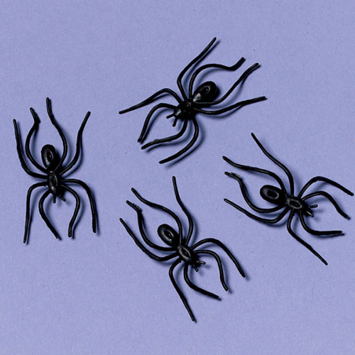 Halloween Clip-On Spiders - Pack of 24 Product Image