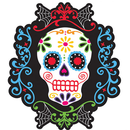 Day Of The Dead Mobile Room Decoration Halloween Accessory 36cm In Length