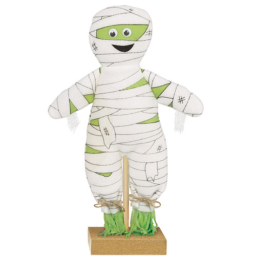 Halloween Prop Mini Standing Mummy Decoration 30cm