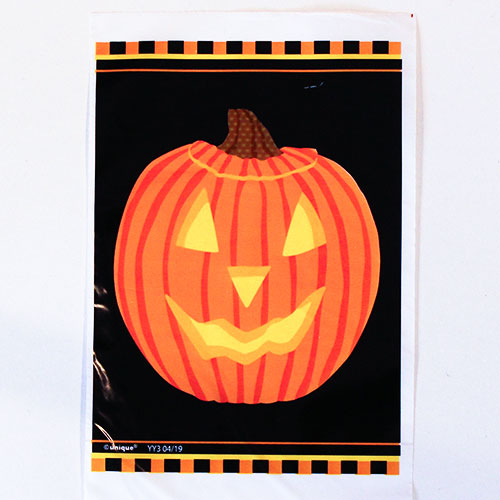 Halloween Pumpkin Glow Trick Or Treat Bags - Pack of 50
