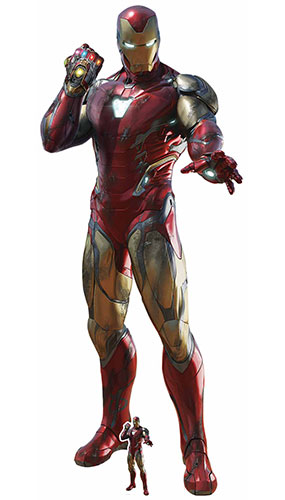 Iron Man Infinity Gauntlet Avengers Endgame Lifesize Cardboard Cutout 191cm Product Gallery Image