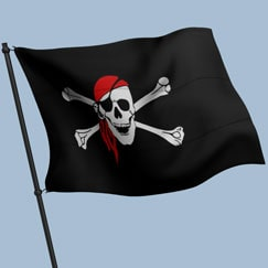 Pirate Flags, Buntings and Banners