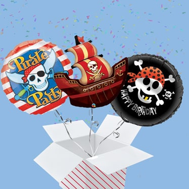 Pirate Balloon In A Box
