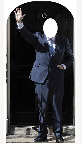 Prime Minister Stand In Lifesize Cardboard Cutout 184cm