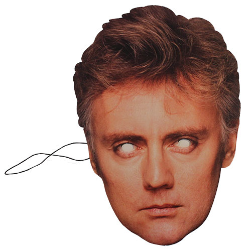 Queen Roger Taylor Cardboard Face Mask