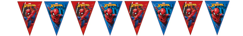 Spider-Man Team Up Plastic Flag Bunting 230cm
