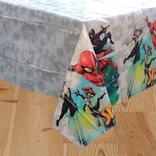 Spider-Man Team Up Plastic Tablecover 180cm x 120cm