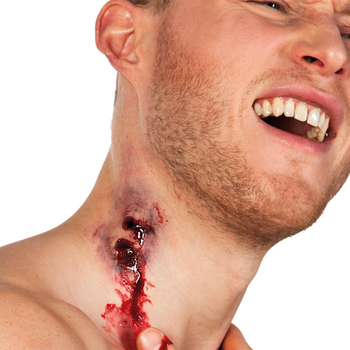 Vampire Bite Latex Wound Halloween Fancy Dress Product Gallery Image