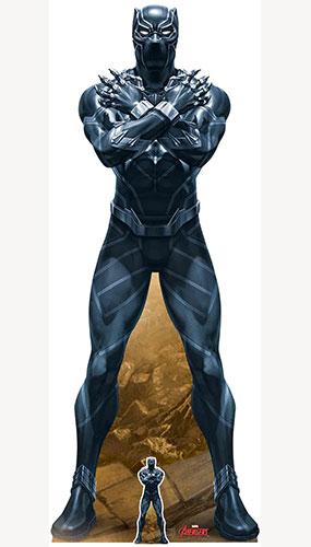 Avengers Black Panther King Of Wakanda Lifesize Cardboard Cutout 184cm