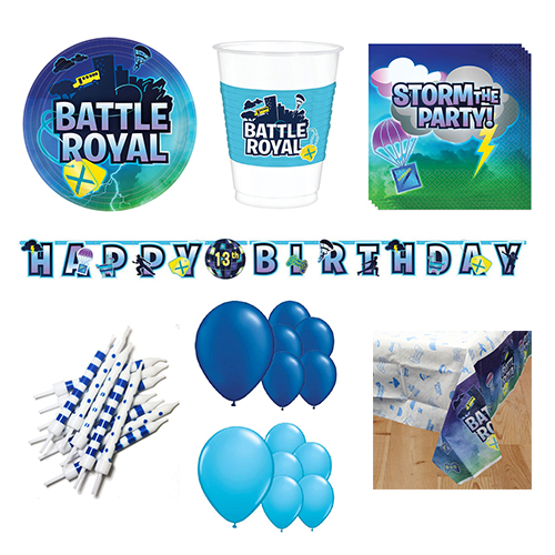 Battle Royal 16 Person Deluxe Party Pack