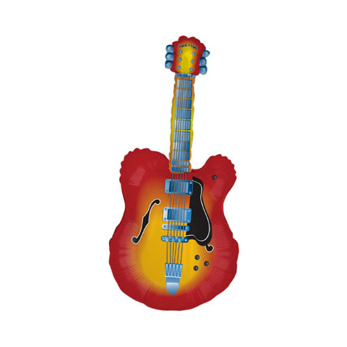 Electric Guitar Helium Foil Giant Balloon 109cm / 43 in