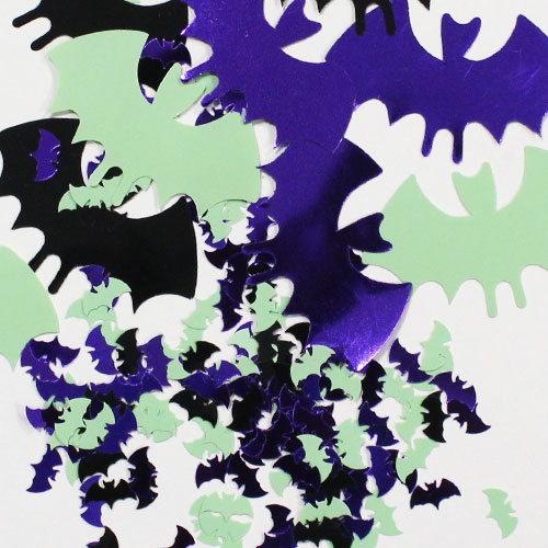 Halloween Bats Table Confetti – 14 Grams