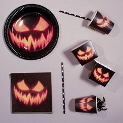 Halloween Creepy Pumpkin Party Supplies
