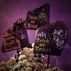 Halloween Party Signs
