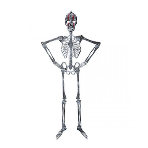 Halloween Skeleton Hanging Decoration 117cm
