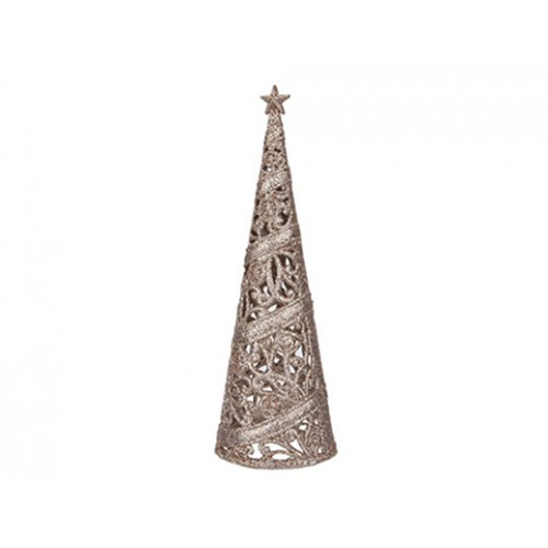Rose Gold Decorative Christmas Tree 24cm Product Image