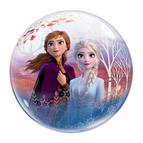 Disney Frozen 2 Bubble Helium Qualatex Balloon 56cm / 22 in