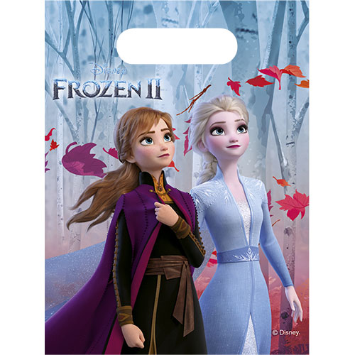 Disney Frozen 2 Party Loot Bags - Pack of 6