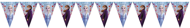 Disney Frozen 2 Plastic Flag Bunting 230cm
