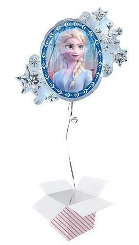 Disney Frozen 2 Helium Foil Giant Balloon - Inflated Balloon in a Box Product Gallery Image