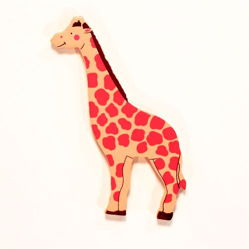 Giraffe Wooden Magnetic Toy