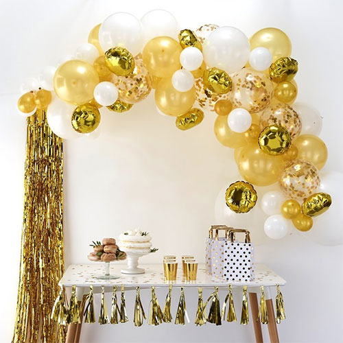 Gold Balloon Arch Kit Product Image