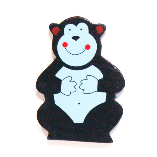 Gorilla Wooden Magnetic Toy