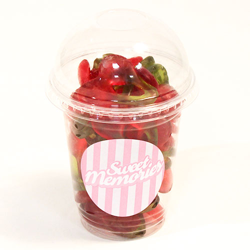Haribo Happy Cherries Fruit Flavour Jelly Sweets - 12 oz