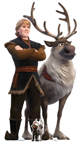 Kristoff And Sven Disney Frozen 2 Lifesize Cardboard Cutout 195cm Product Gallery Image
