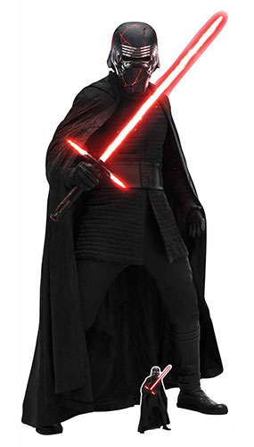 Kylo Ren Star Wars The Rise of Skywalker Lifesize Cardboard Cutout 194cm Product Gallery Image