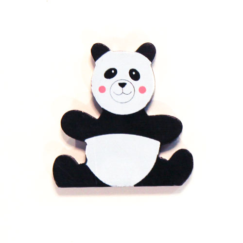 Panda Wooden Magnetic Toy