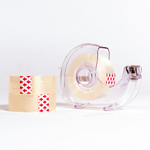 Tape Dispenser & Sticky Tapes Set Product Image