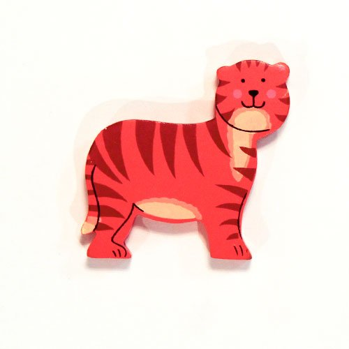 Tiger Wooden Magnetic Toy