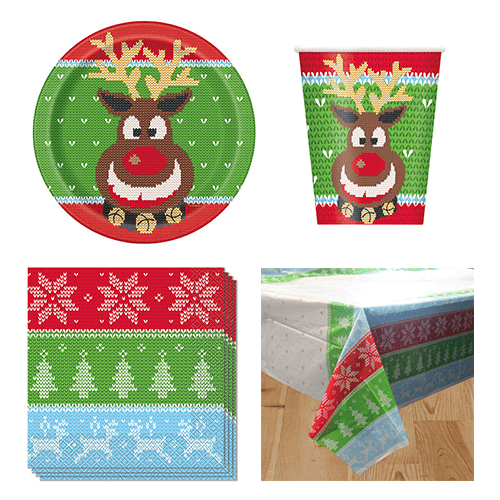 Ugly Sweater Christmas 8 Person Value Party Pack