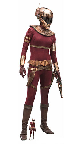 Zorri Bliss Star Wars The Rise of Skywalker Lifesize Cardboard Cutout 174cm Product Gallery Image