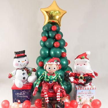 Christmas Themed Balloons