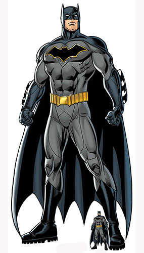 DC Comics Batman Caped Crusader Lifesize Cardboard Cutout 189cm Product Gallery Image