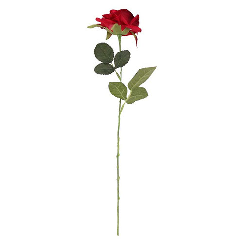 Red Richmond Rose Artificial Silk Flower 42cm Product Gallery Image