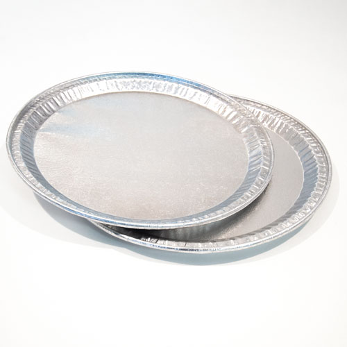 Silver Round Foil Platters 31cm - Pack of 2