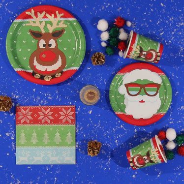 Ugly Sweater Christmas Party Supplies