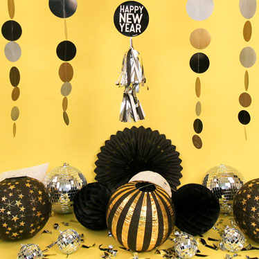 All New Years Decorations