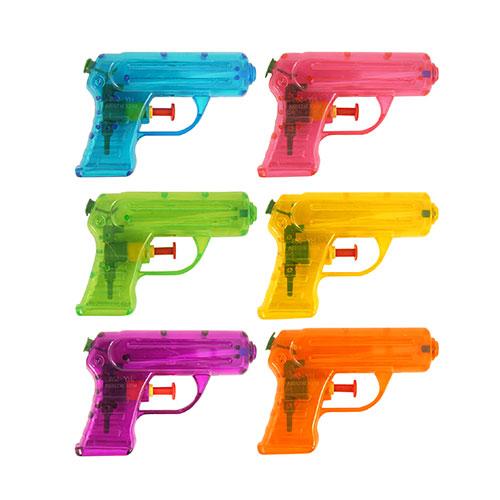 Assorted Plastic Water Gun Toy 11cm