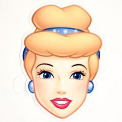 Disney Princess Cinderella Cardboard Face Mask