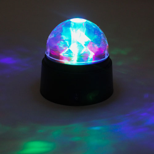 Colour Changing Disco Dome 9cm