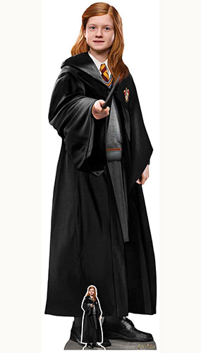 Ginny Weasley Harry Potter Character Lifesize Cardboard Cutout 168cm Product Gallery Image