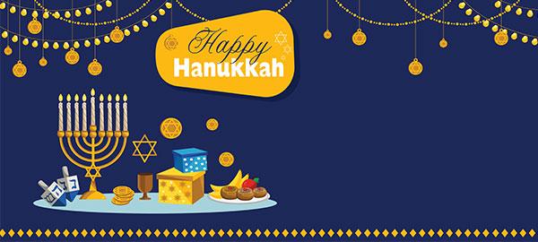 Hanukkah Personalised Banners